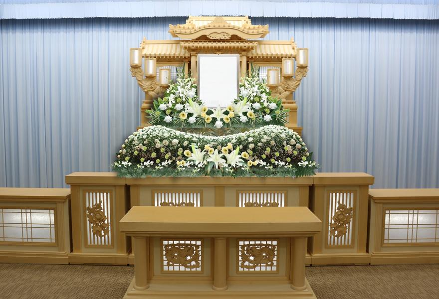 生花祭壇プラン 藤