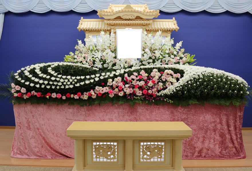 生花祭壇プラン ローズ