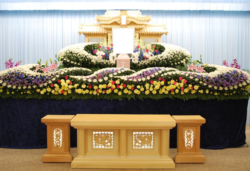 生花祭壇プラン 牡丹