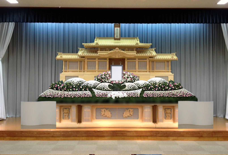生花祭壇プラン 金華山
