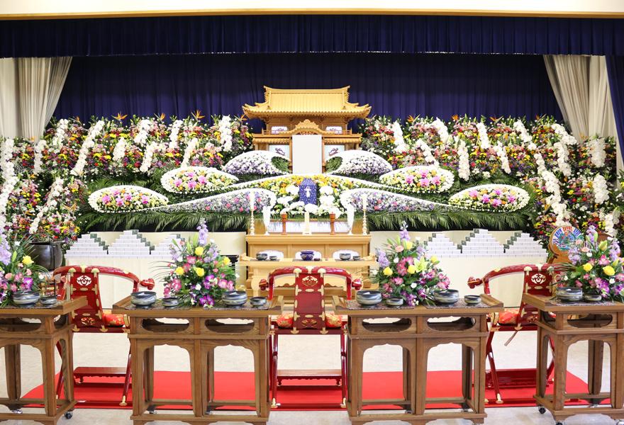 生花祭壇プラン 鳳凰